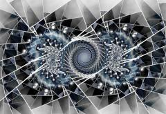 Фрактальные круги и линии