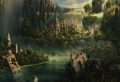 Королевство среди джунглей водопад