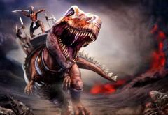 обои динозавры