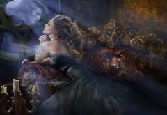 Любовь, романтика, дух, зеркало, печаль, женщины, блонди…