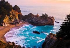 фон морского пляжа