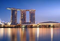 сингапур marina bay отель фото
