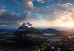 горы обои на рабочий