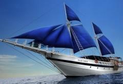 океан, парусные корабли, фоны, обои