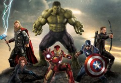 Мстители, фильм, 2012, Marvel, марвел, фэнтези, заставки