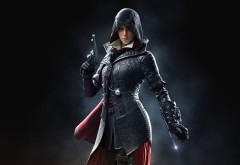 Evie Frye, Assassins,Creed,Syndicate, фоны, игра