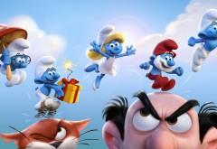 Смурфики 3 (2017) - Get Smurfy мультфильм HD обои