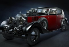 3D Графика Ретро Tomi Vaisanen Автомобили обои картинки