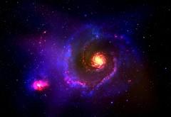 sci-fi, небула, фон, космос, звезда, красивые обои космос
