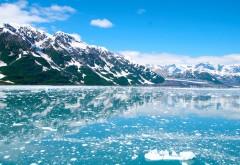 Аляска заснеженные горы картинки