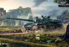 AMX-30B - World of Tanks 3D обои скачать