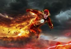 Барри Аллен, Flash, Флеш, комиксы, обои, бесплатно