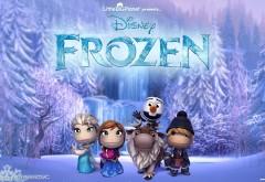 Frozen, Freeze, Littlebigplanet 3, Холодное сердце, картинки