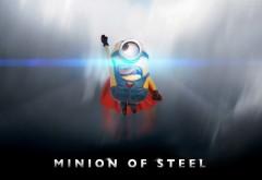 миньон из стали, супер герой, супермен, minion