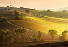 восход Италия пейзаж широкоформатные картинки
