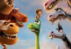 Хороший динозавр обои мультфильма на рабочий стол