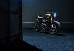 Мотоцикл Triumph Bonneville широкоформатные обои