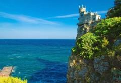 Ласточкино гнездо замок бесплатно обои