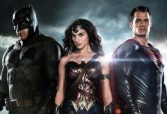 Бэтмен, Супермен и удивительная женщина обои скачать